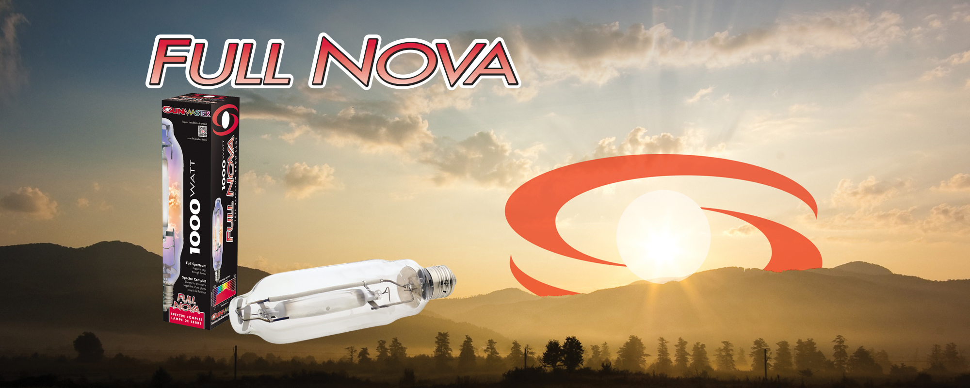 SUNMASTER Full Nova full spectrum grow lamps