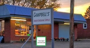 Sunmaster retail location Campbells Indoor Gardening - Masury, OH