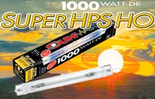 NEW SUNMASTER Double-End 1000W SUPER HO tailored to promote early and more flowers