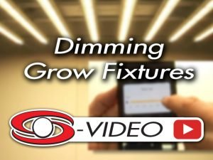 Dimming Grow Fixtures