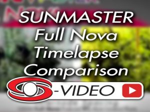 Full Nova 1000W vs 1000W HPS timelapse comparison on tomato plants