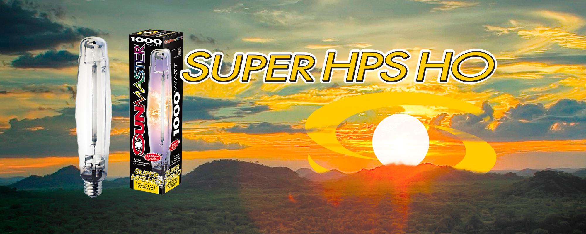 SUNMASTER 1000W SUPER HPS HO Single-ended grow lamp