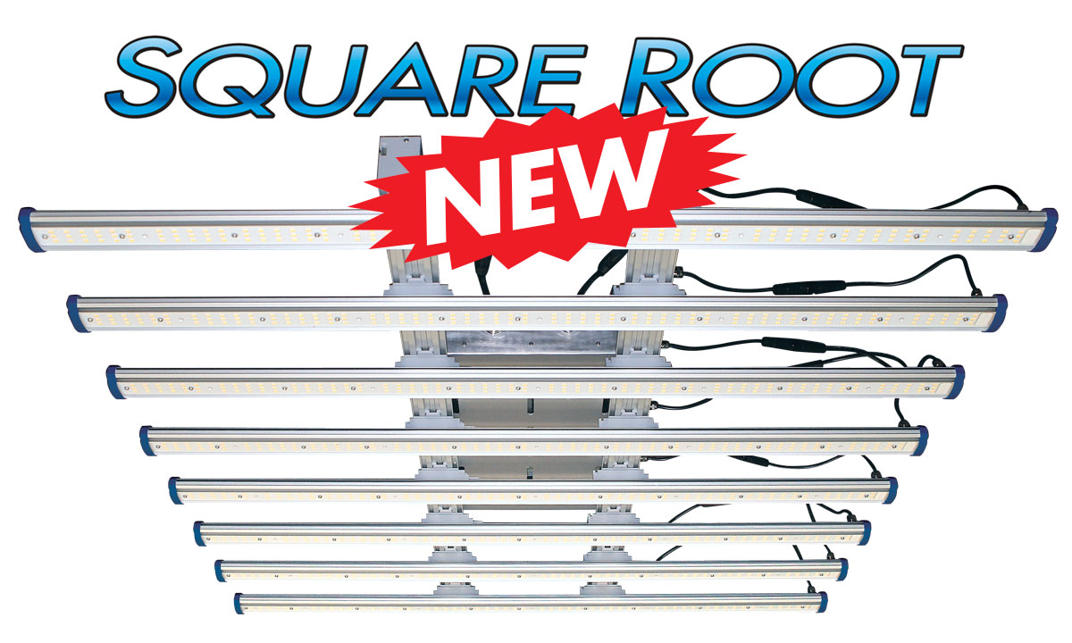 Sunmaster Square Root LED grow fixture - New
