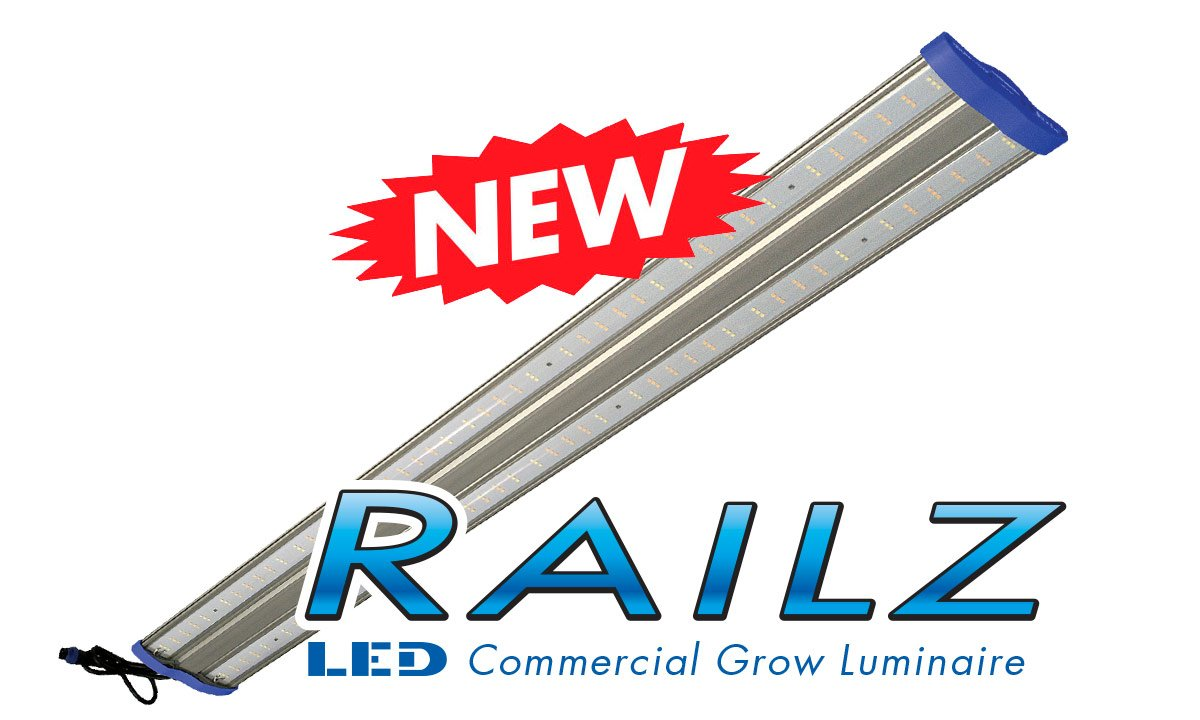 Sunmaster New RAILZ LED grow lights